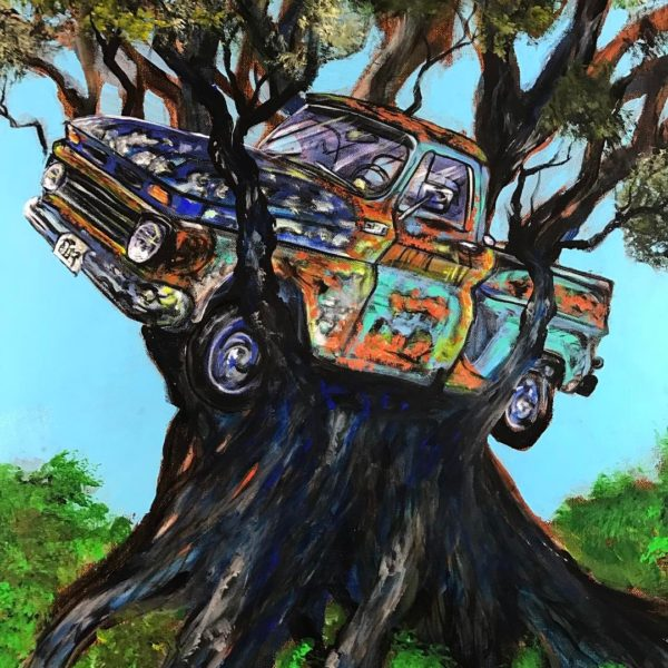 truck a treehouse 20x24